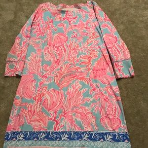 Lilly Pulitzer SOphie Dress Shell we dance